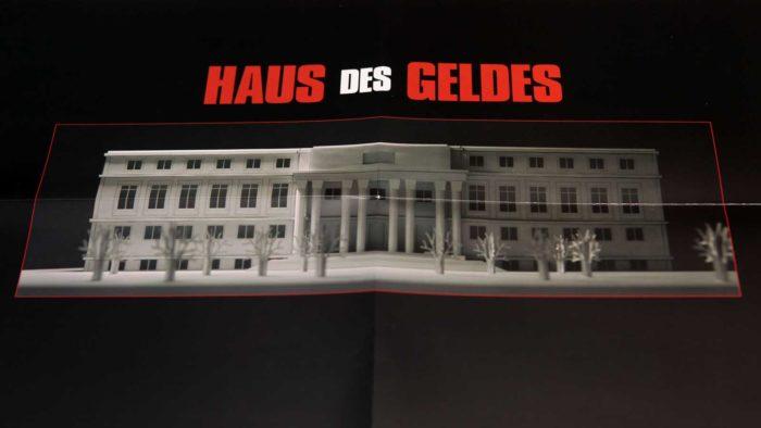 Haus des Geldes - Plan Rückseite