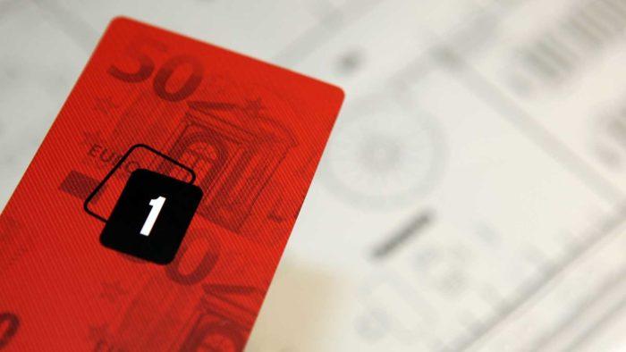 Haus des Geldes - Hinweiskarte